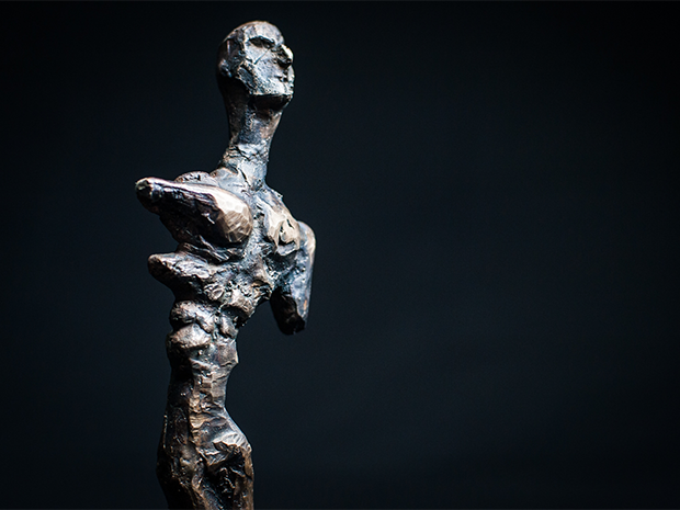 Crematory Born <br> Bronze Sculpture